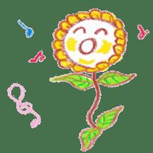 Happy Flower sticker #3606101