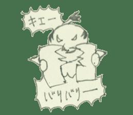 STICKER-SAMURAI sticker #3613685