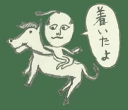 STICKER-SAMURAI sticker #3613699