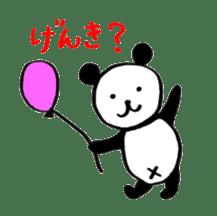 Lovely Bear Panda 2 ! sticker #3616506