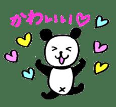 Lovely Bear Panda 2 ! sticker #3616522