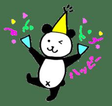 Lovely Bear Panda 2 ! sticker #3616525