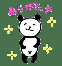 Lovely Bear Panda 2 ! sticker #3616530