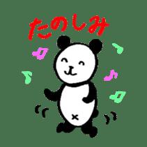 Lovely Bear Panda 2 ! sticker #3616532