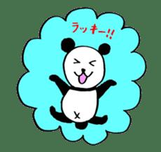 Lovely Bear Panda 2 ! sticker #3616533