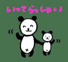 Lovely Bear Panda 2 ! sticker #3616540