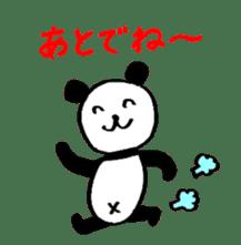 Lovely Bear Panda 2 ! sticker #3616543