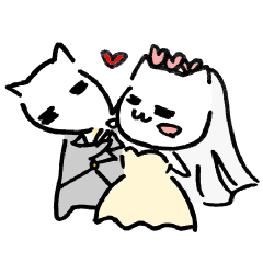 Cat sometimes Fox.(WEDDING Ver.)