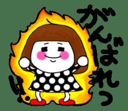 Her name is heeko. She is a pretty girl. sticker #3621671