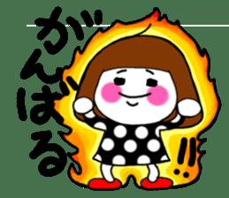 Her name is heeko. She is a pretty girl. sticker #3621672