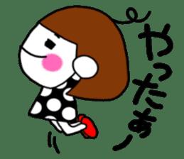 Her name is heeko. She is a pretty girl. sticker #3621677