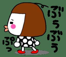 Her name is heeko. She is a pretty girl. sticker #3621687