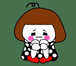 Her name is heeko. She is a pretty girl. sticker #3621692
