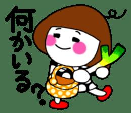 Her name is heeko. She is a pretty girl. sticker #3621693