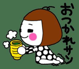Her name is heeko. She is a pretty girl. sticker #3621696