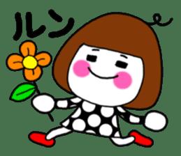 Her name is heeko. She is a pretty girl. sticker #3621697