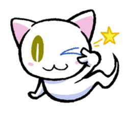 "The Ghost Cat ""Nyamochi"" sticker #3627316"