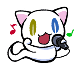 "The Ghost Cat ""Nyamochi"" sticker #3627321"