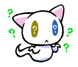 "The Ghost Cat ""Nyamochi"" sticker #3627325"