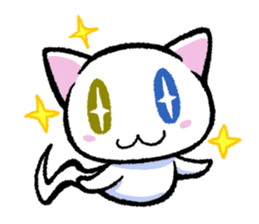 "The Ghost Cat ""Nyamochi"" sticker #3627330"