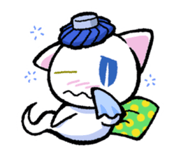 "The Ghost Cat ""Nyamochi"" sticker #3627338"