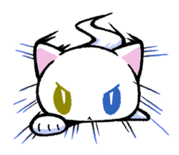 "The Ghost Cat ""Nyamochi"" sticker #3627342"