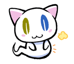 "The Ghost Cat ""Nyamochi"" sticker #3627344"