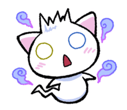 "The Ghost Cat ""Nyamochi"" sticker #3627345"