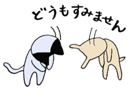 The Cat and Dog sticker #3630429