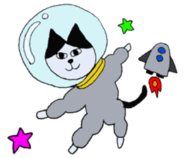The Cat and Dog sticker #3630465