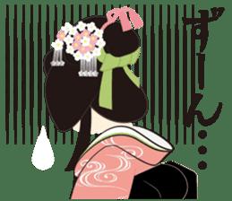 Japanese Princess Stickers sticker #3633866