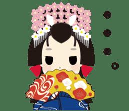 Japanese Princess Stickers sticker #3633872