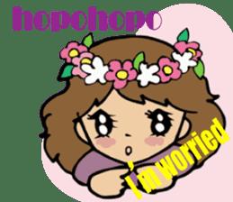 Hawaiian Family 5 Aloha Feeling2 English sticker #3635953