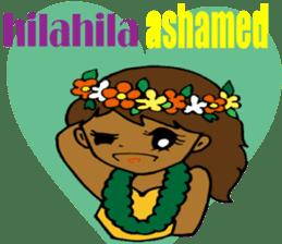 Hawaiian Family 5 Aloha Feeling2 English sticker #3635954