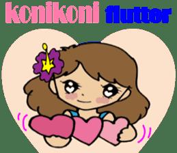 Hawaiian Family 5 Aloha Feeling2 English sticker #3635955