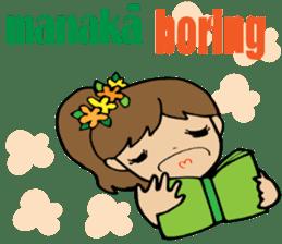 Hawaiian Family 5 Aloha Feeling2 English sticker #3635960