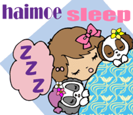 Hawaiian Family 5 Aloha Feeling2 English sticker #3635966
