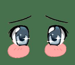 Moe eyes for OTAKU. sticker #3639644