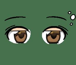 Moe eyes for OTAKU. sticker #3639668