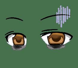 Moe eyes for OTAKU. sticker #3639675