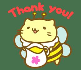 Honey Cat by Mitchiri Neko sticker #3640679