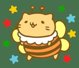 Honey Cat by Mitchiri Neko sticker #3640680