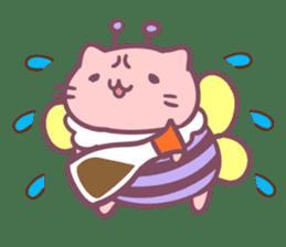 Honey Cat by Mitchiri Neko sticker #3640682