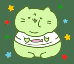 Honey Cat by Mitchiri Neko sticker #3640686