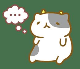 Honey Cat by Mitchiri Neko sticker #3640687