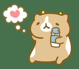 Honey Cat by Mitchiri Neko sticker #3640688
