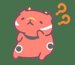 Honey Cat by Mitchiri Neko sticker #3640689