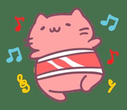 Honey Cat by Mitchiri Neko sticker #3640691