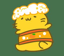 Honey Cat by Mitchiri Neko sticker #3640693