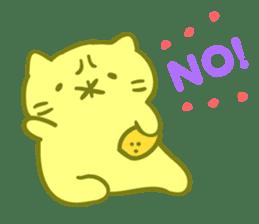 Honey Cat by Mitchiri Neko sticker #3640696